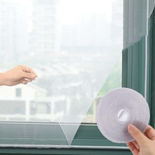 Окно с москитной сеткой сетка комплект муха Жук ОСА Москитная занавес сетка на окно и лента