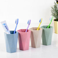 1Pc Multifunction Bathroom Accessories Mouthwash Cup Home Drinkware high quality PP Rinse Cups Water Mug Food Grade