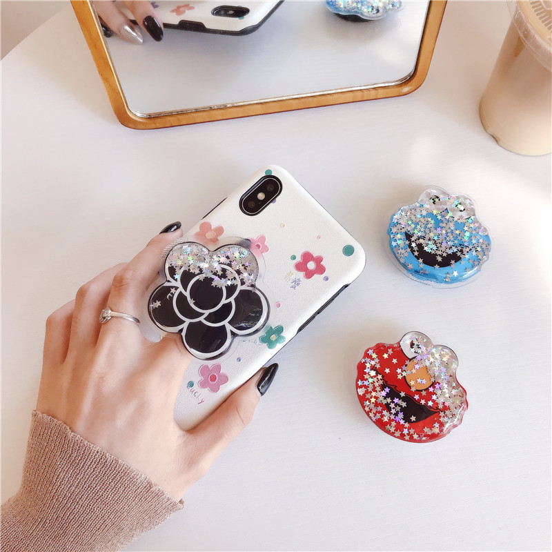 Cute Cartoon Bracket Universal Mobile Phone Seat Bracket Extension Bracket And IPhone XR Samsung Mobile Phone