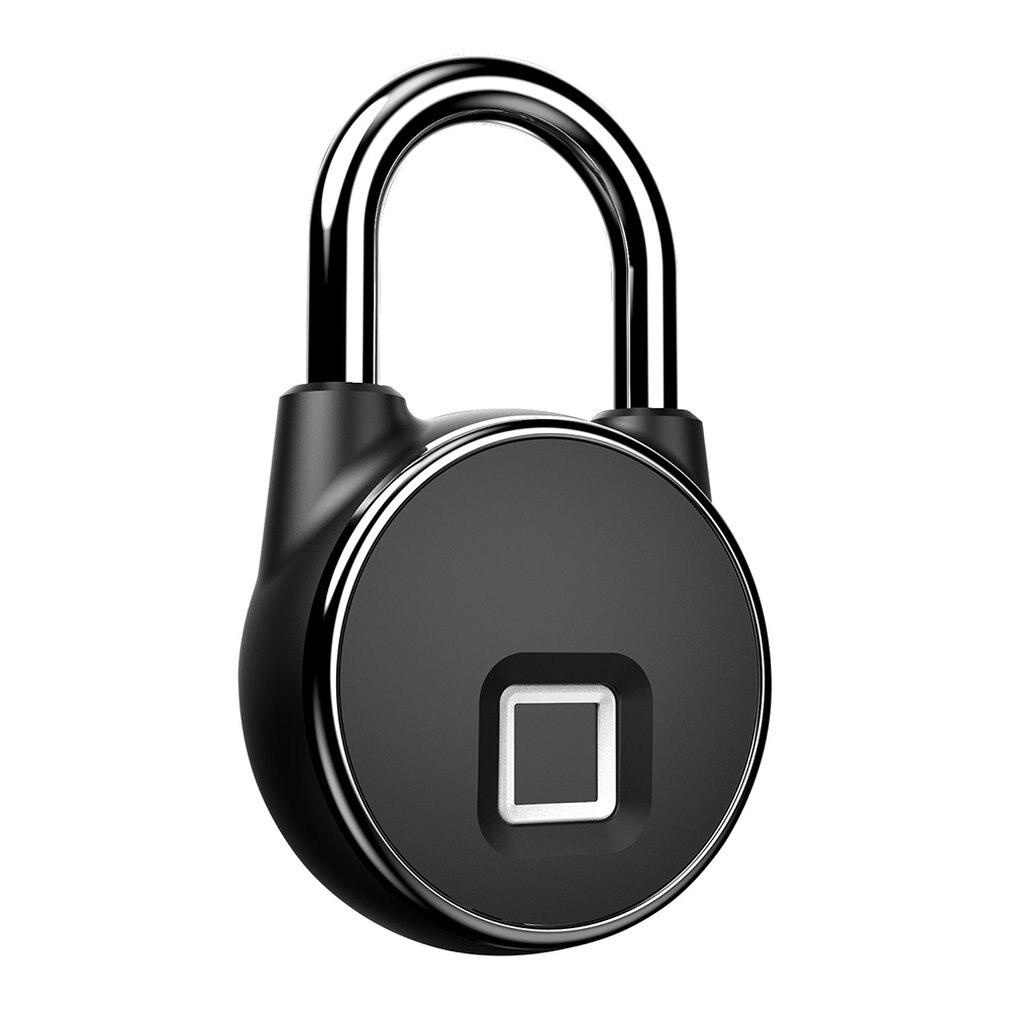 Étanche sans fil serrure d'empreintes digitales valise étudiant dortoir antivol longue veille cadenas électronique