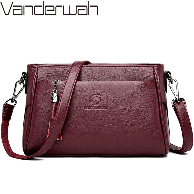 Luxury Handbags Leather Crossbody Bags For Women Shoulder Bags Designer Ladies Hand Bags Female Handbags And Purses High Quality