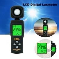 Dreamburgh 디지털 럭스 미터 0 ~ 200  000lux 범위 luxmeter 라이트 미터 illuminometer lux/fc 포토 미터 테스터 환경 테스트 분광계 도구 -