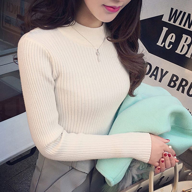 Sueter Mujer Invierno 2019 Casual Women Knitted Sweaters Autumn Winter Pullovers Swetry Damskie Blusa De Frio Feminina