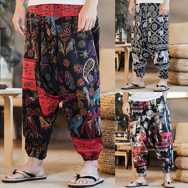 Cotton Baggy Harem Pants 8