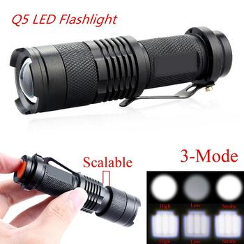1pcs flashlight Supper Bright T6/Q5 LED Tactical Flashlight Adjustable Focus Zoomable Light Lamp 3/5 Modes for 18650/14500 panyue 1000 lumen led rechargeable flashlight t6 xml led portable zoomable 5 modes adjustable focus tactical flashlight torch