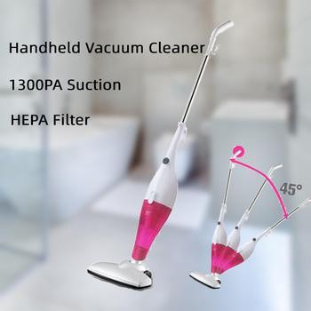 handheld vacuum cleaner portable household car vacuum cleaner 1300Pa 600W vacuum cleaner multifunctional cleaning EU Plug  5M