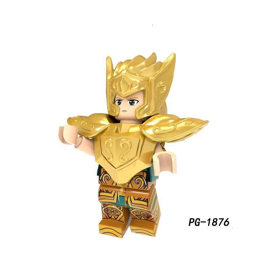 聖闘士星矢ビルディングブロック星座牡羊座牡牛座双子座癌アクション互換フィギュア Legoings Childre
