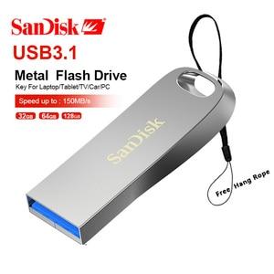 SanDisk Pen Drive USB 3.1 CZ74 Flash Drive Disk 256gb 128GB 64GB 32GB 16GB Pendrive Memory Stick Storage Device Flash drive