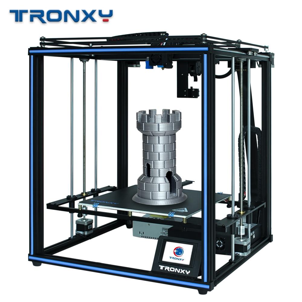 Tronxy X5SA PRO DIY 3D Printer CoreXY OSG Double Axis External Guide Rail Titan Extruder impressora 3d printer hotend 3D Ducker