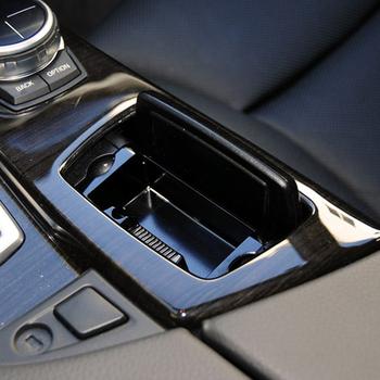 Popielniczki samochodowe centrum ABS konsoli popielniczka montażowe pudełko pokrowiec na Bmw serii 5 F10 F11 F18 520i 525i 528i 530i 2010-2017 tanie i dobre opinie Tefanball CN (pochodzenie) Wielofunkcyjne For BMW F10 F11 F18 5 Series