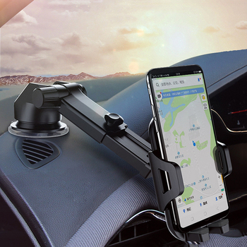Car Mobile Phone Holder Stand Universal Long Arm Support for huawei honor 8x Xiaomi mi 9 redmi note 7 iPhone 7 6s XR Accessories