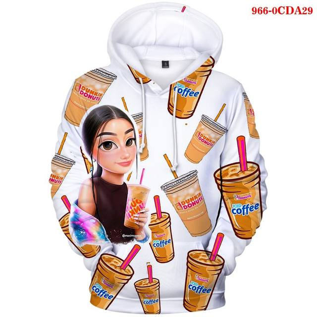 CHARLI D'AMELIO THEMED 3D HOODIE (31 VARIAN)