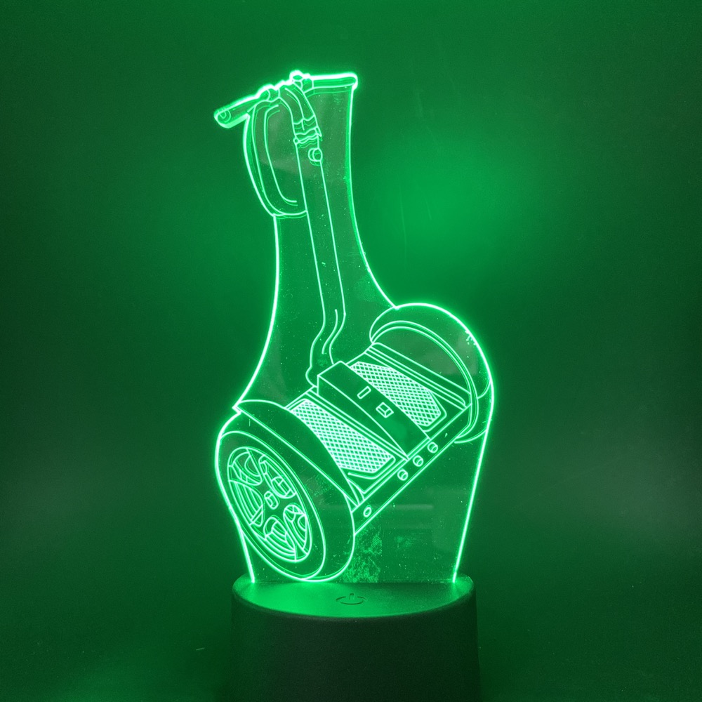 Night Lights for boy 3d night light lamp indoor battery operated color changing decorative car