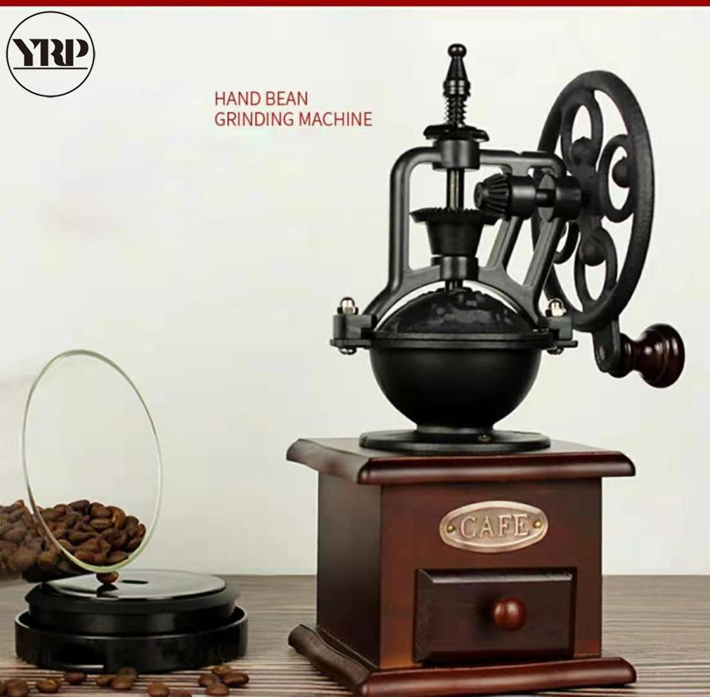 YRP coffee grinder home decoration kitchen accessories barista tools Retro Ferris Wheel coffee grain mill pepper spices grinder