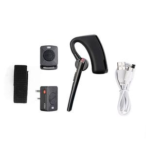 Image 4 - Baofeng walkie talkie PTT inalámbrico con Bluetooth, auriculares tipo K de Radio bidireccional, micrófono