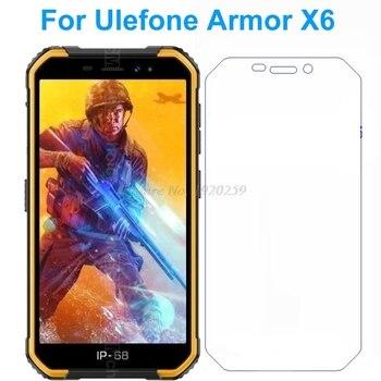 Перейти на Алиэкспресс и купить 2 шт. Ulefone Armor X6 закаленное стекло 9H Высококачественная защитная пленка Взрывозащищенная защитная пленка для Ulefone Armor X6