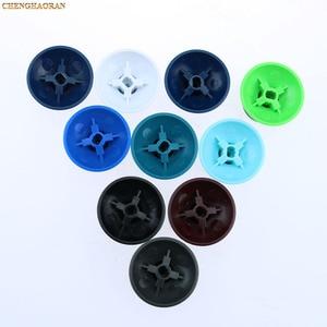 Image 2 - 20 sztuk 10 kolorów dla microsoft xbox One X S kontroler oryginalny 3d analogowe palce kciuki Grip nasadka na dżojstik niebieski czerwony ThumbSticks