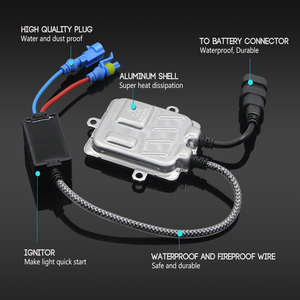 Image 2 - Fast Start AC Ballast Block 55W HID Xenon Digital Ballast Ignition For Car Xenon Bulb H7 H1 H4 H3 H11 H8 H13 9012 9005 9006 9007