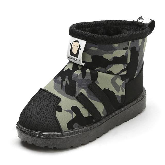Children Fashion Brand Snow Boots 6