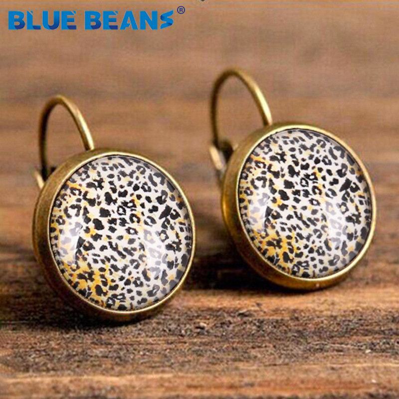H50243fa51d0a49bf8e8ebe8748e68549K - Small Earrings Stud Women Star Earing Jewelry Punk Vintage Leopard Boho Fashion Bohemian Luxury Gifts Geometric Elegant Earring