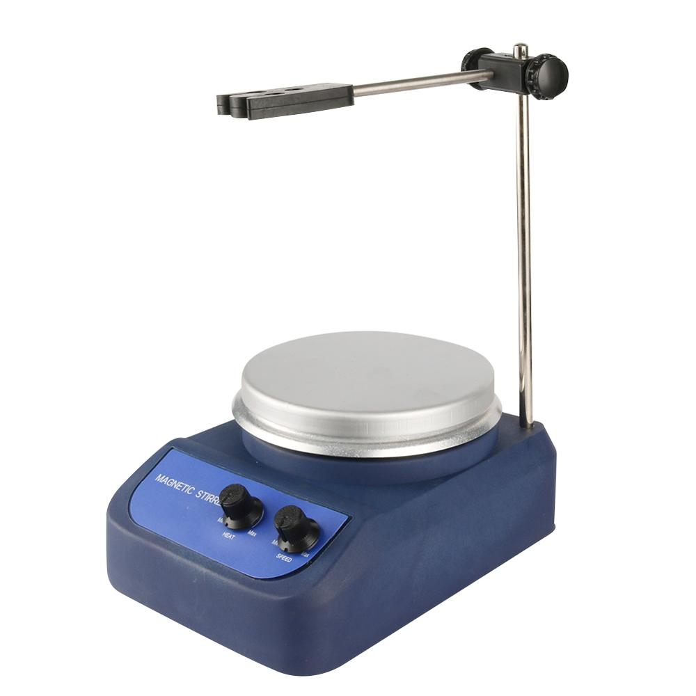 110V/220V Magnetic Stirrer With Heating Centigrade Magnetism Heating Mixer Physical Biochemistry Experiment Heating Equipment