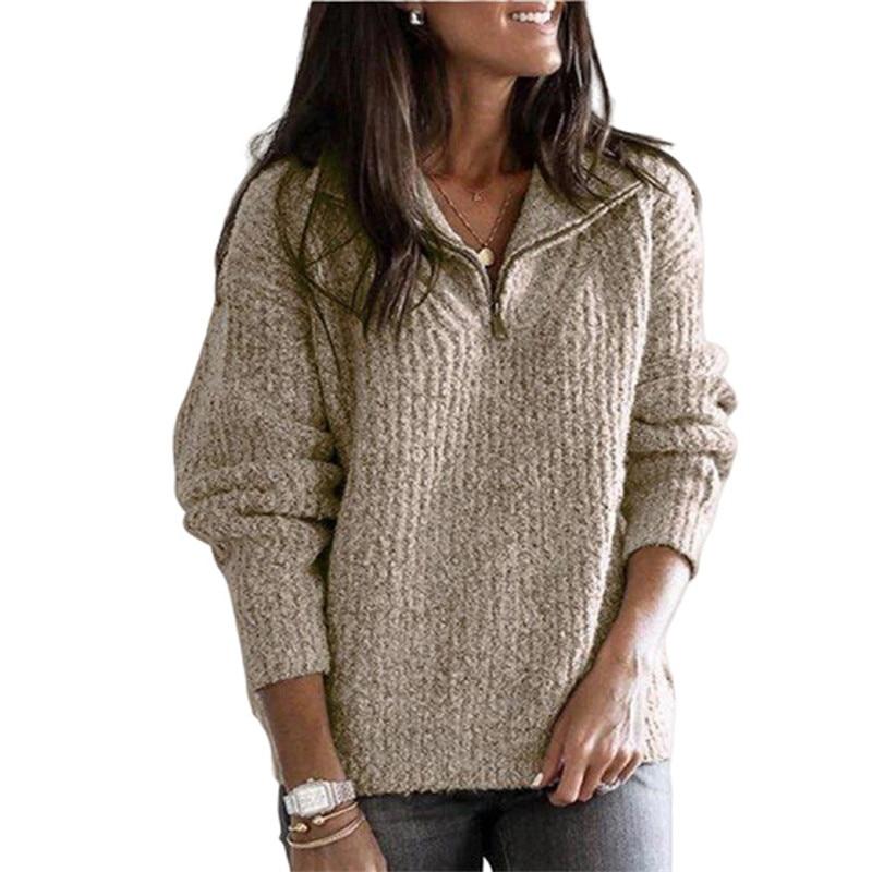 Plus Size 5XL Women Sweater Autumn Winter Long Sleeve Knitted Sweater Female Streetwear Ladies Pullover Jumper