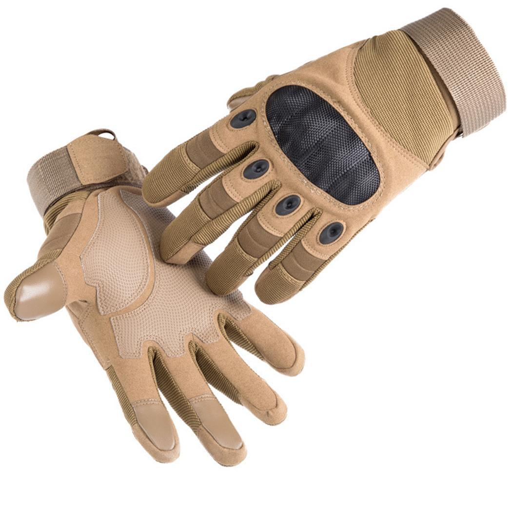 Мужские спортивные перчатки на открытом воздухе, дорожные коричневые/черные/зеленые Тактические перчатки варежки