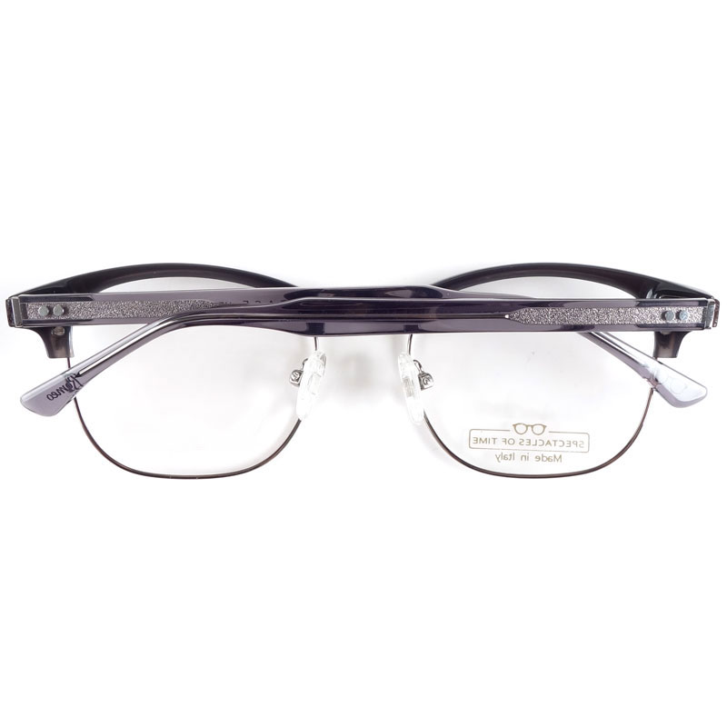 Image 3 - Italy handmade acetate spectacles for men myopia glasses frames-in Men's Eyewear Frames from Apparel Accessories