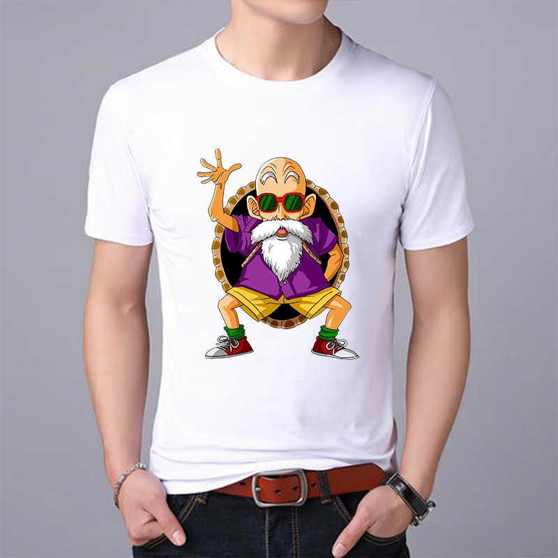 2019 Nieuwe Dragon Ball Z Goku T-shirt Korte mouw O-hals T-shirt Zomer casual mode Harajuku merk kleding t-shirt