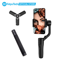 FeiyuTech Vlog De Poche Smartphone Cardan Stabilisateur de Téléphone selfie bâton pour iPhone11 pro max XR 8 7 Plus 6 HUAWEI P30 pro