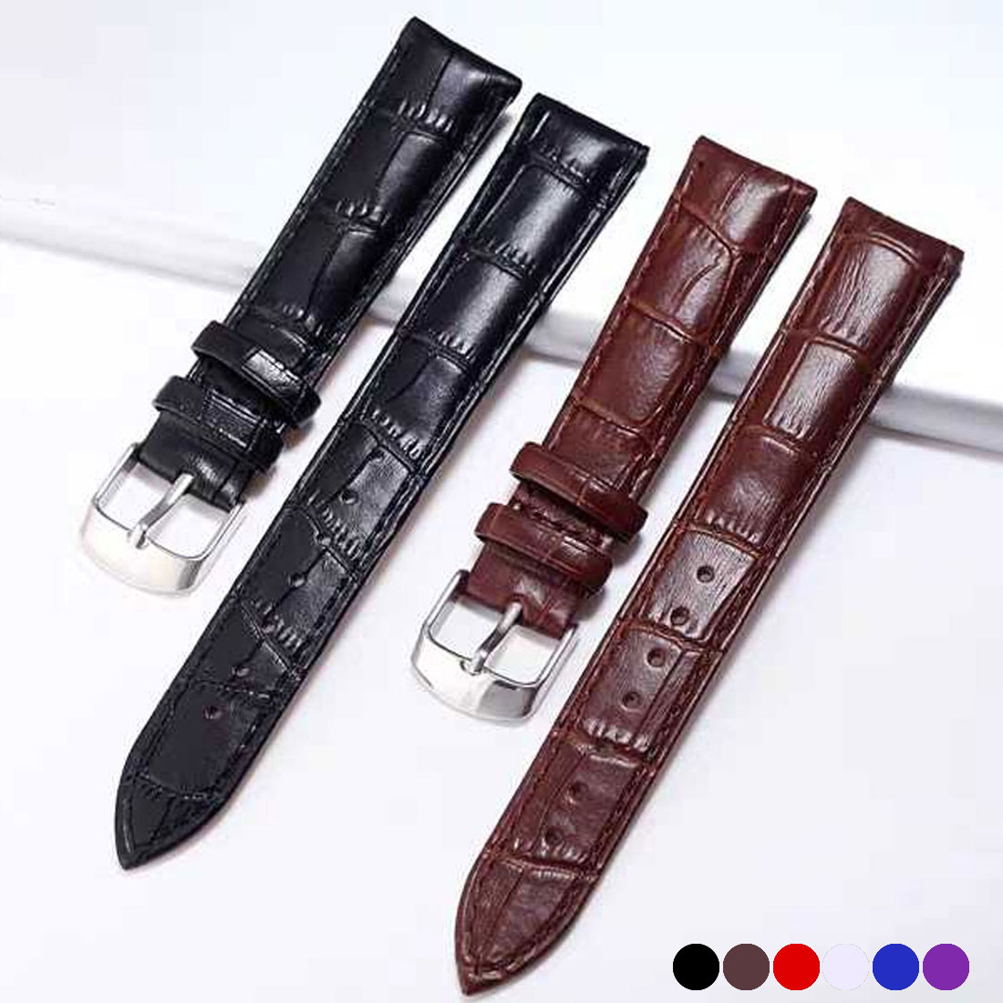 Watch Band Leather straps Watch Bands 16mm watch accessories women Belt band watch accessories wristband
