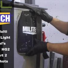 Тестовое видео-MILITECH HG2 NIJ 0101,07 и NIJ IIIA 0101,06 мульти-кривая твердая Броня тест ing-часть 2. 44 Magnum
