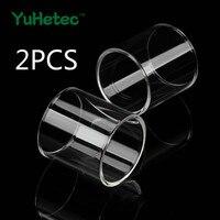 Tubo de vidrio para cleito 120/Pro/Merlin/mini/sirena/2/Faraón/mini/MELO RT/Melo 4 D25/sólo 2/sólo 3/Anubis Dual/CREED/Combo/TFV12
