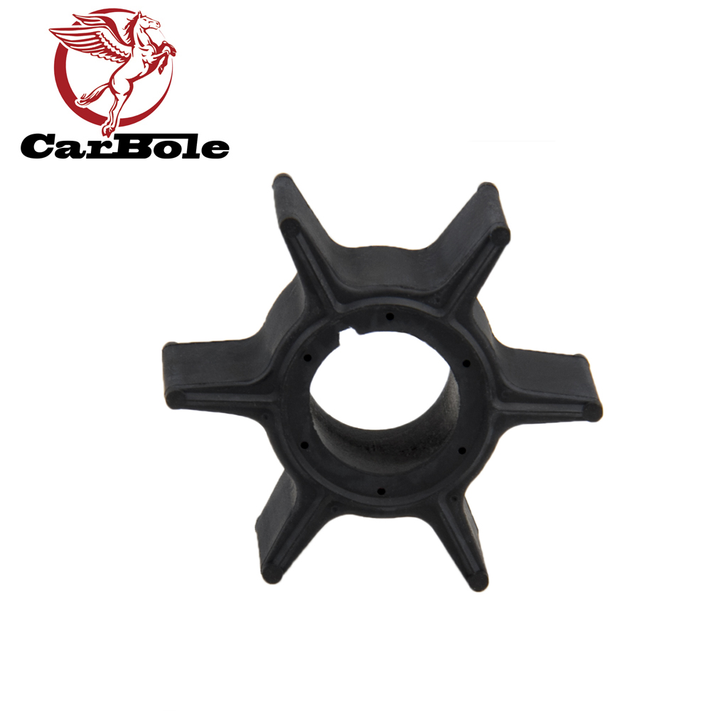 CARBOLE Water Pump Impeller For Nissan 30HP 40HP 50hp 3C8-65021-2 18-8922 Outboard Motor Neoprene 6 Blades Boat Accessories