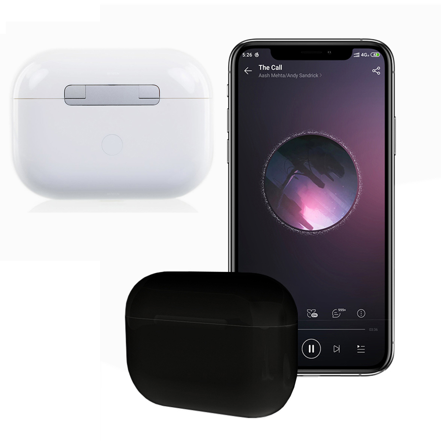Qi Wireless Charging Transparency mode Headsets <font><b>Pop</b></font> <font><b>up</b></font> Touch Bluetooth Earphone i200000 tws 1:1 <font><b>airpoding</b></font> pro 3 noise reduction image