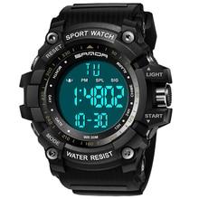 Waterproof Watch Electronic-Clock Digital Men's Luxury Brand LED SANDA Fashion Swim Sport