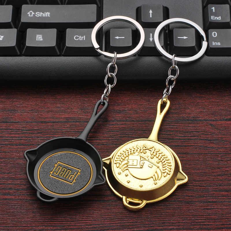 חדש משחק PUBG נשק Keychain שדה קרב קוספליי פאן דגם Keyring צלף רובה דגם לא ידוע נגן מפתח אבזם תכשיטים