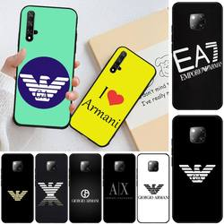 На Алиэкспресс купить чехол для смартфона baweite luxury italian brand letter label phone case cover for honor 20 20lite view20 7c 8c 7a 8a 10i 20i play 9x pro