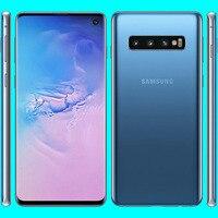 Samsung-teléfono inteligente Galaxy S10 G973U, Original, usado, 4G LTE, 19:9, 6,1 pulgadas, ocho núcleos, android 9,0, 8 GB de RAM + 128 GB de ROM, cámara de 16MP, desbloqueado Global