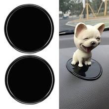 5Pc NEW Pad black car anti slip mat Car Electronics Silica Gel Magic Sticky Pad Cellphone Anti Slip Mat for Mobile Phone стоимость