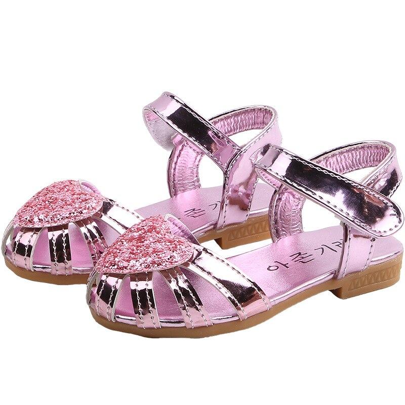 Größe Mode Kleinkinder Sommer Schuhe Sandalen Mädchen Kinder Wandern Party