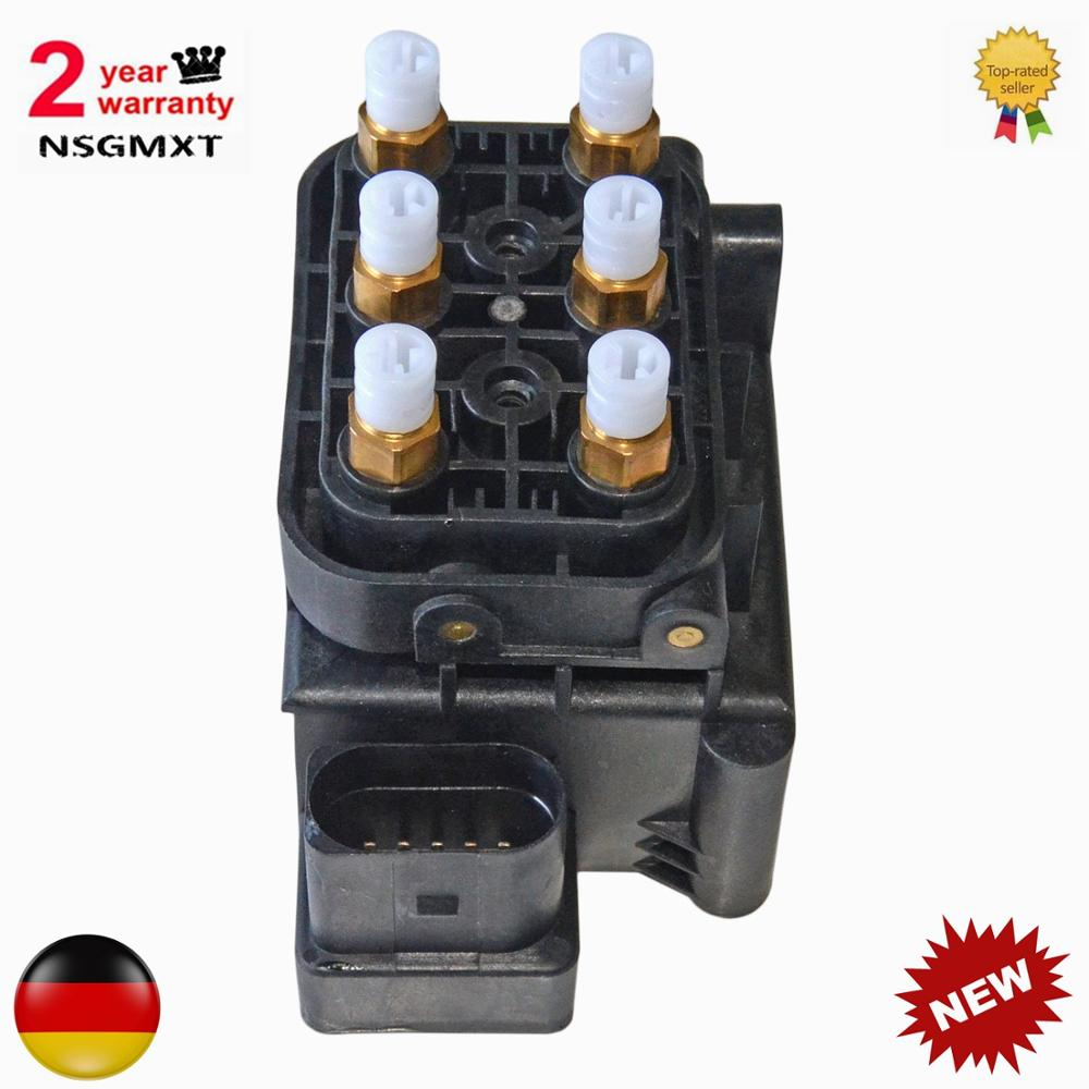 AP01 nouveau bloc de soupape Suspension pneumatique alimentation pneumatique pour Audi Allroad A6 (C6) Quattro A8 (D3) S8 (D3) 4F0 616 013 4Z7 616 013 4Z7616013