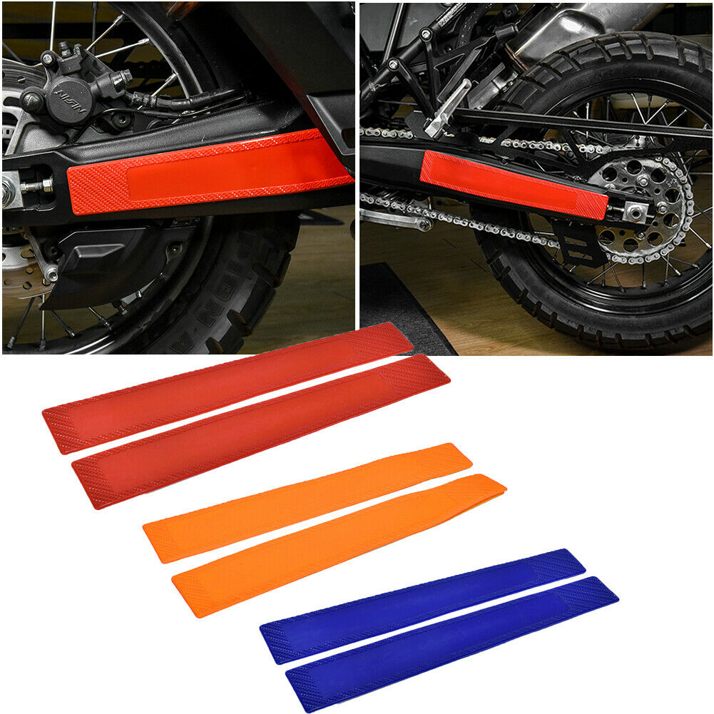 RONSHIN Off-Road Motorcycle Accessories Rear Flat Fork Protection Plastic Swing Arm Protector for KTM XCW 125-500EXC//EXC-F Blue
