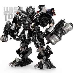 Image 1 - BMB Transformation Robot Black Mamba LS 09 LS09 Ironhide Weapon Expert KO MPM06 MPM 06 Alloy Truck Mode Action Figure Model Toys