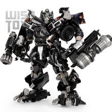 BMB Transformation Roboter Schwarz Mamba LS 09 LS09 Ironhide Waffe Experten KO MPM06 MPM 06 Legierung Lkw Modus Action Figur Modell Spielzeug