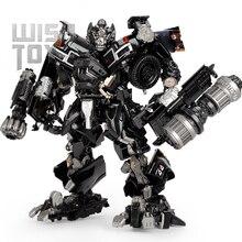 BMB dönüşüm Robot siyah Mamba LS 09 LS09 Ironhide silah uzman KO MPM06 MPM 06 alaşımlı kamyon modu eylem şekilli kalıp oyuncaklar
