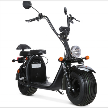 EEC COC Certified Street Legal Electric Vehicles Motorcycle 60V 20ah 2 Seats Adult Used Big Fat Tire Electric Citycoco Scooter 2