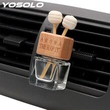 Empty-Bottle Perfume-Pendant Air-Freshener Hanging Auto-Ornament Essential YOSOLO Glass