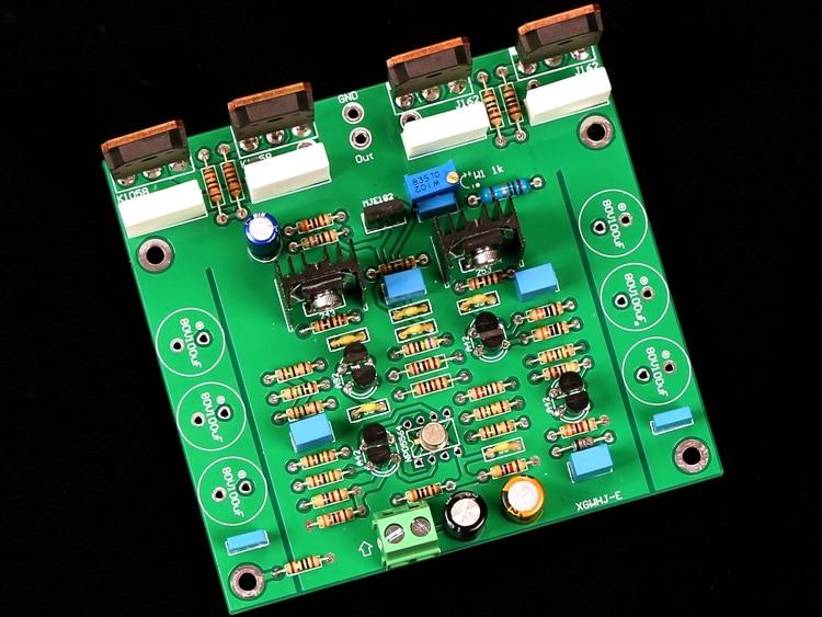 Assembly K1058/J162 Mono HiFi Amplifier Board Based On Goldmund Power Amplifier Circuit
