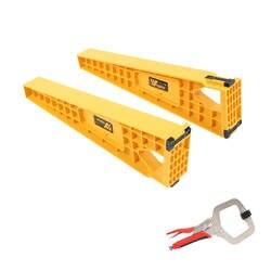 NE 2 шт. ящик трек установка джиг вспомогательный фиксирующий кронштейн слайд монтажный шкаф аппаратные средства Деревообработка